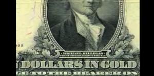 Unul dintre argumentele forte ale autorilor este că dolarul nu mai are nici o legătură cu echivalentul său în aur