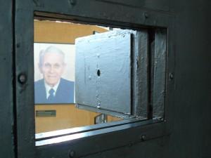 Imagine din secţiunea dedicată lui Corneliu Coposu la Sighet