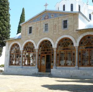 Biserica schitului românesc Prodromu din Muntele Athos