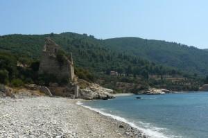 Turnul de apărare ridicat de Ştefan cel Mare pentru mănăstirea Zografu (Athos)