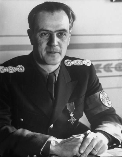 Ministrul Afacerilor Externe Grigore Gafencu