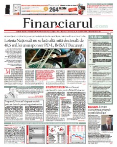 Financiarul, pag 1