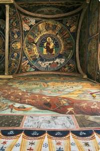 Judecata de Apoi, în pridvorul mănăstirii Hurezi
