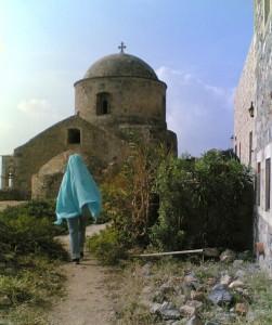 Luciat în cetatea medievală Monemvasia din sudul Greciei