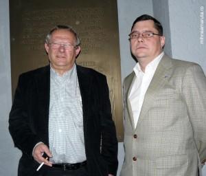 Adam Michnik si Gabriel Bartas