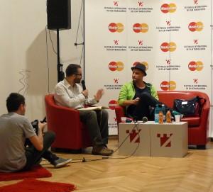 Mihai Chirilov la TIFF Lounge
