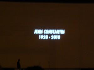 Organizatorii au conceput un clip în memoria lui Jean Constantin...