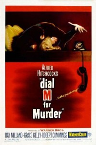 1954. Dial M for Murder. Regia: Alfred Hitchcock