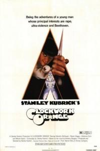 """1971. A Clockwork Orange (""""Portocala mecanică""""). Regia: Stanley Kubrick"""