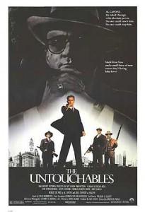 """1987. The Untouchables (""""Incoruptibilii""""). Regia: Brian de Palma"""