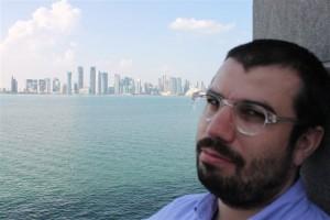 Mihai Gligor la Doha. Foto: Arhiva personală