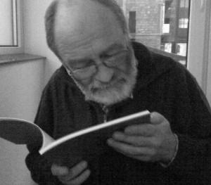 """Ion Mureşan, recitându-mi din """"cartea Alcool"""""""