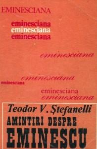 Stefanelli, Amintiri despre Eminescu