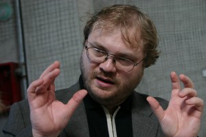 Radu Preda, titularul cursului de Teologie socială ortodoxă de la Cluj. Foto: Eugen Olariu