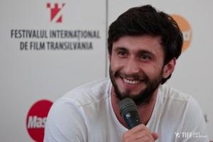 Dragoş Bucur la TIFF Lounge. Foto: Adi Marineci (tiff.ro)