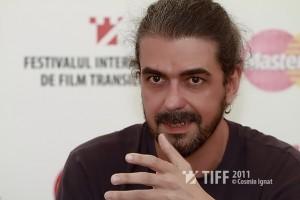 Fernando de Aranoa la TIFF Lounge. Foto: Cosmin Ignat (tiff.ro)