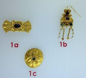 Diademă, cercel şi fibulă discoidală dintr-un inventar funerar roman găsit la Tomis (secolul II d.Hr.)
