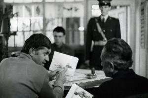 """Imagine din filmul """"O lacrimă de fată"""", cu Dorel Vişan. / aarc.ro"""